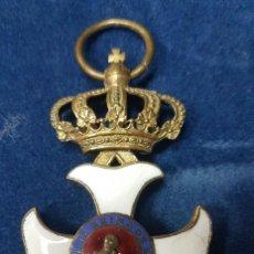 Militaria: CRUZ DE LA ORDEN DE MARIA ISABEL LUISA PARA OFICIALES HACIA 1840. Lote 106597643