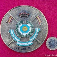 Militaria: MEDALLA LANCEROS DE BORBON HUSARES ESPAÑOLES SIC OBVIA FRANGIT GCMZ 11. Lote 106643523