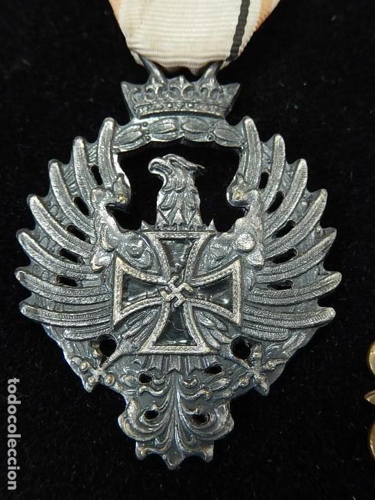Militaria: Cuadro conjunto de recompensas, distintivos relacionados con la División Azul / Ejército Alemán (2) - Foto 4 - 106644455