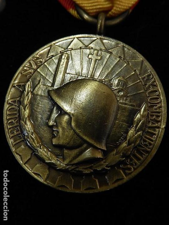 Militaria: Cuadro conjunto de recompensas, distintivos relacionados con la División Azul / Ejército Alemán (2) - Foto 27 - 106644455
