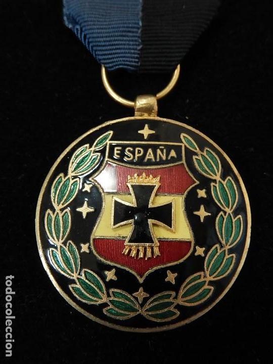 Militaria: Cuadro conjunto de recompensas, distintivos relacionados con la División Azul / Ejército Alemán (2) - Foto 35 - 106644455