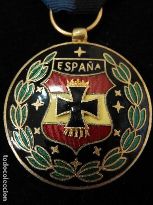 Militaria: Cuadro conjunto de recompensas, distintivos relacionados con la División Azul / Ejército Alemán (2) - Foto 34 - 106644455