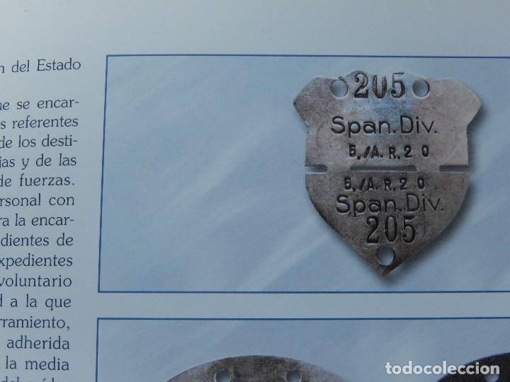 Militaria: Cuadro conjunto de recompensas, distintivos relacionados con la División Azul / Ejército Alemán (2) - Foto 18 - 106644455