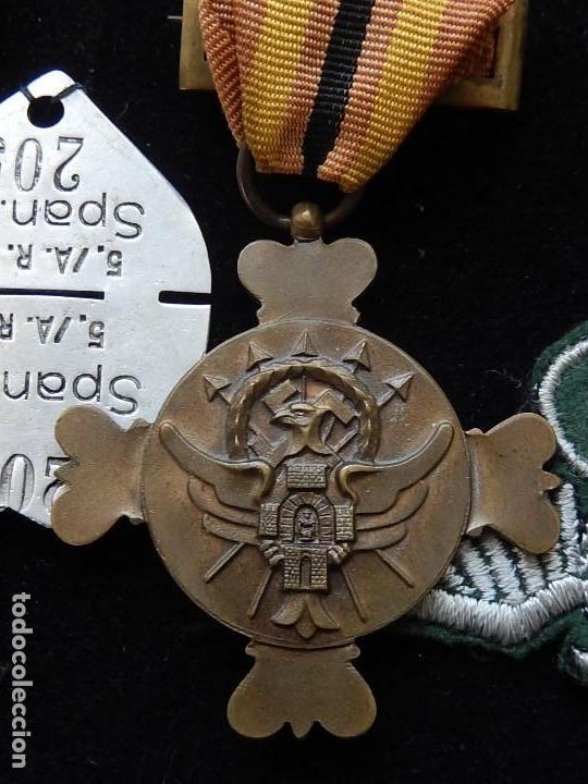 Militaria: Cuadro conjunto de recompensas, distintivos relacionados con la División Azul / Ejército Alemán (2) - Foto 10 - 106644455