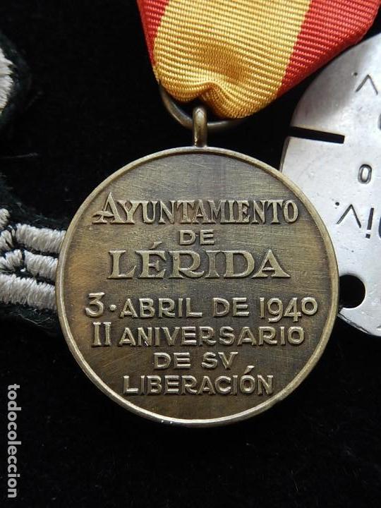 Militaria: Cuadro conjunto de recompensas, distintivos relacionados con la División Azul / Ejército Alemán (2) - Foto 31 - 106644455