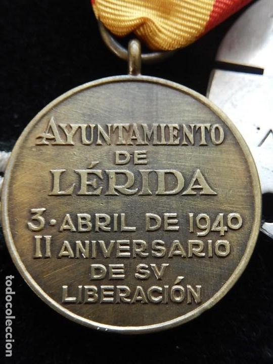 Militaria: Cuadro conjunto de recompensas, distintivos relacionados con la División Azul / Ejército Alemán (2) - Foto 32 - 106644455