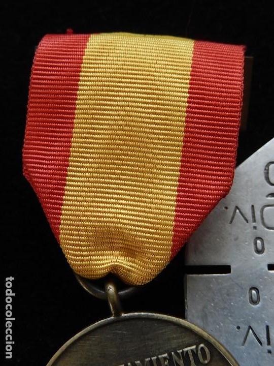 Militaria: Cuadro conjunto de recompensas, distintivos relacionados con la División Azul / Ejército Alemán (2) - Foto 30 - 106644455