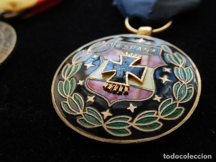 Militaria: Cuadro conjunto de recompensas, distintivos relacionados con la División Azul / Ejército Alemán (2) - Foto 38 - 106644455
