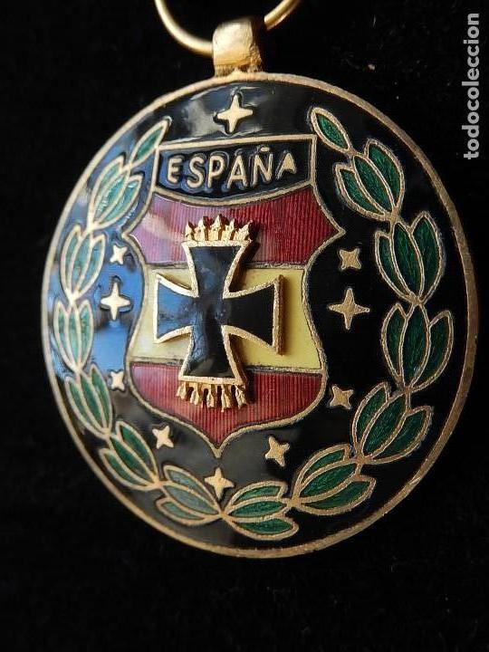 Militaria: Cuadro conjunto de recompensas, distintivos relacionados con la División Azul / Ejército Alemán (2) - Foto 40 - 106644455