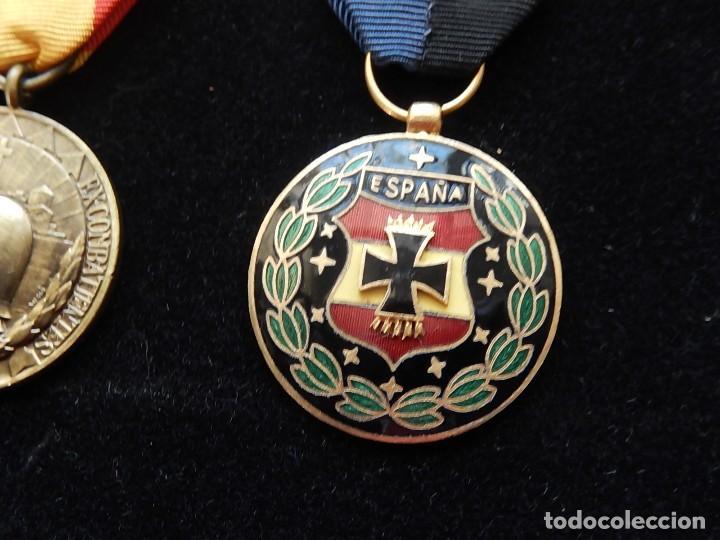 Militaria: Cuadro conjunto de recompensas, distintivos relacionados con la División Azul / Ejército Alemán (2) - Foto 42 - 106644455