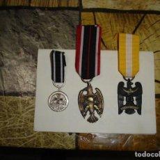 Militaria: LOTE DE TRES MEDALLAS A IDENTIFICAR CREO QUE SON ALEMANAS. Lote 106782095