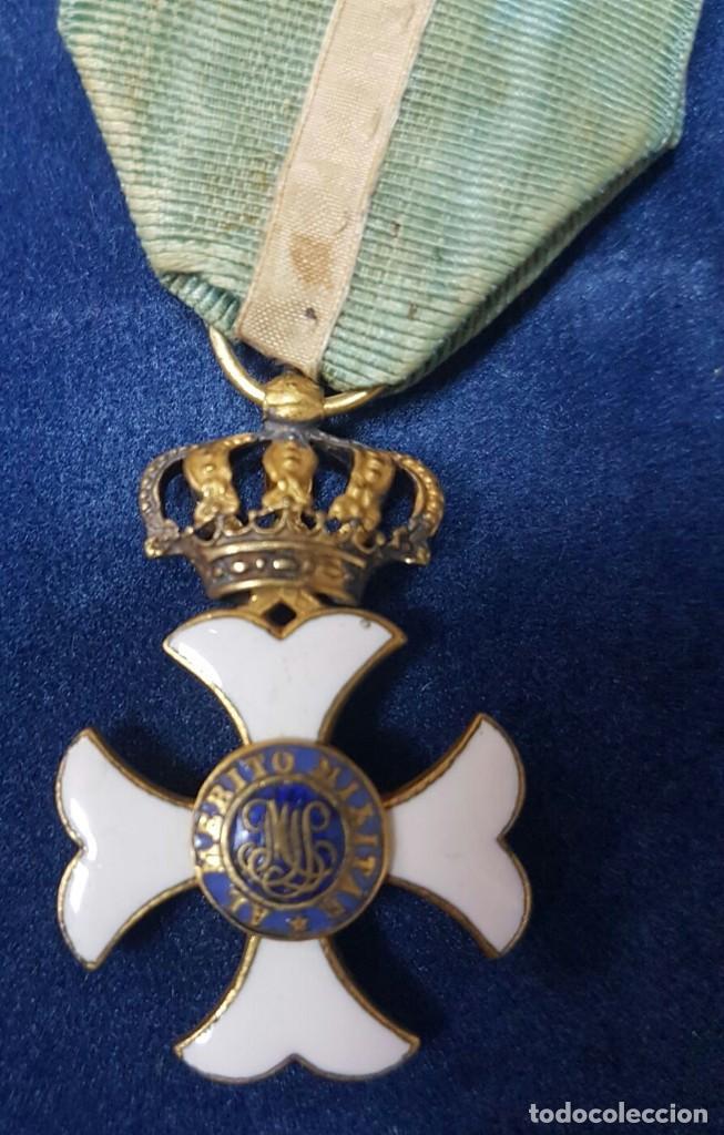 Militaria: CRUZ DE LA ORDEN DE MARIA ISABEL LUISA PARA OFICIALES HACIA 1840 - Foto 2 - 107008139