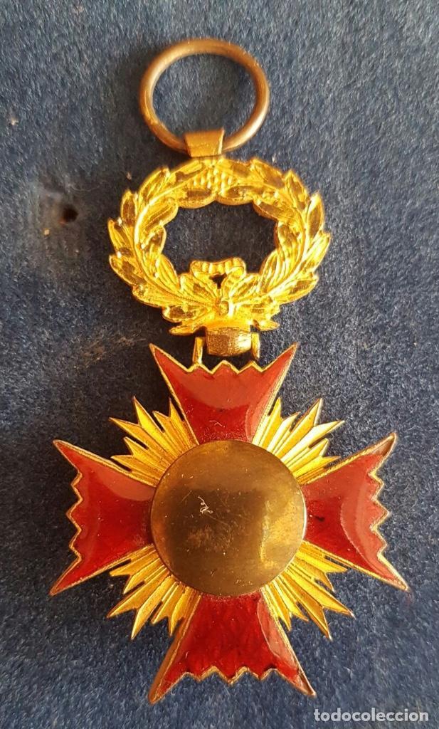 Militaria: CRUZ DE LA ORDEN DE ISABEL LA CATÓLICA - ÉPOCA FERNANDO VII - Foto 2 - 107107903