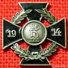 Military - Kriegsverdienstkreuz 1914 - Göde - 45 x 45 mm - Cruz al merito de Guerra - 107189875