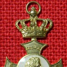Militaria: ORDEN DE LUIS I DE BAVIERA - BAYERN 1827 - GÖDE - 70 X 42 MM. Lote 107192155