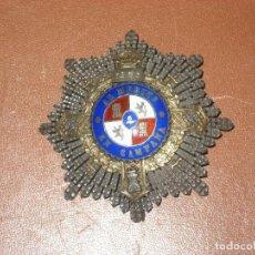 Militaria: CRUZ DE GUERRA 1938. GRABACION 1936. Lote 107314111