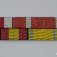 Militaria: PASADOR DIVISIONARIO. DIVISION AZUL. CRUZ DE CAMPAÑA, SUFRIMIENTOS, GUERRA CIVIL, TAL Y COMO SE VE E. Lote 107481467