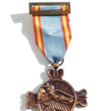 Militaria: MEDALLA ORIGINAL DIVISIÓN AZUL - VOLUNTARIOS CIUDAD REAL - LA CINTA NO CORRESPONDE A LA MEDALLA. Lote 107727775