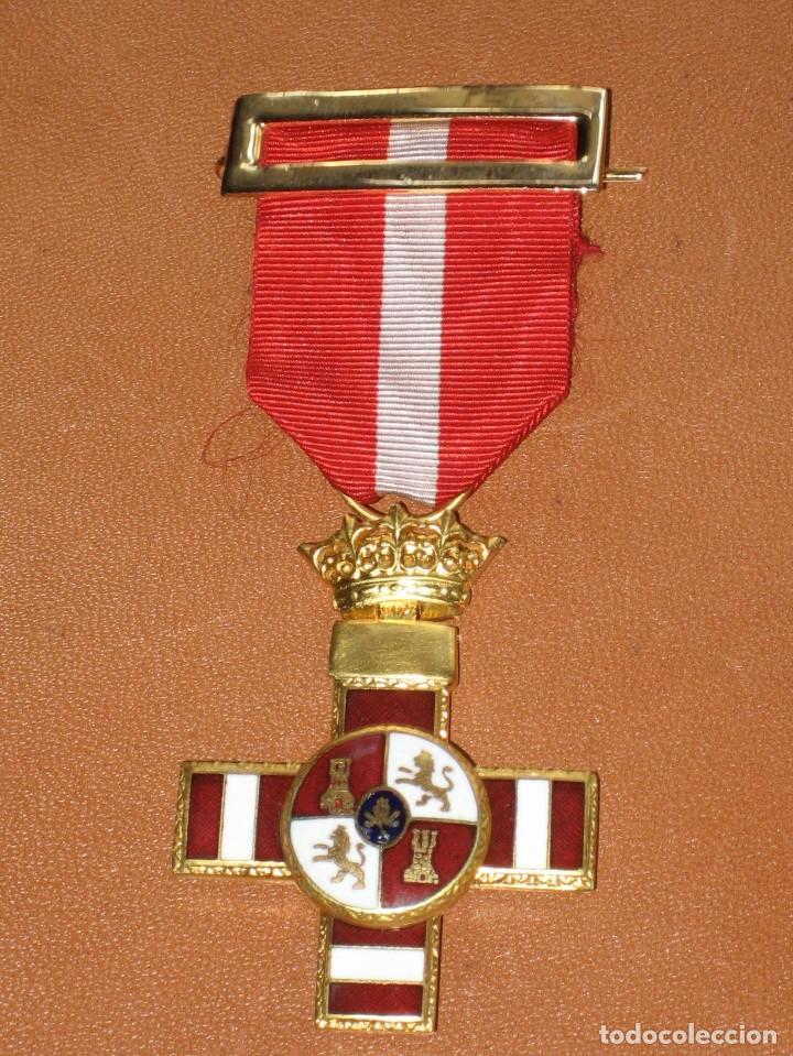 MEDALLA MERITO MILITAR CON DISTINTIVO ROJO. PENSIONADA. 1938 (Militar - Medallas Españolas Originales )