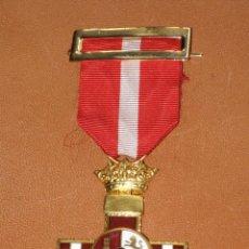 Militaria: MEDALLA MERITO MILITAR CON DISTINTIVO ROJO. PENSIONADA. 1938. Lote 107843799