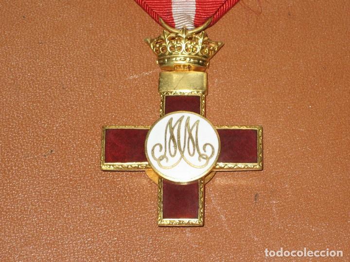 Militaria: MEDALLA MERITO MILITAR CON DISTINTIVO ROJO. PENSIONADA. 1938 - Foto 2 - 107843799