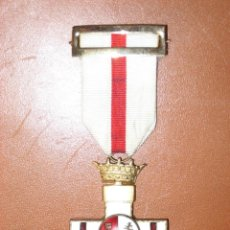 Militaria: MEDALLA MERITO MILITAR CON DISTINTIVO BLANCO. PENSIONADA. 1938. Lote 107844039