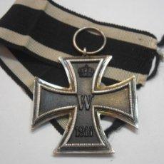 Militaria: CRUZ DE HIERRO 2 CLASE 1914-1918,(CENT.MAGNÉTICO), MARCO PLATA, EXCELENTE ESTADO,TODO ORIGINAL. Lote 103482186