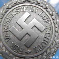 Militaria: ALEMANIA. III REICH. MEDALLA DEFENSA PASIVA. LUFTSCHUTZ EHRENZEICHEN. 2ª CLASE. 1938.. Lote 108370915