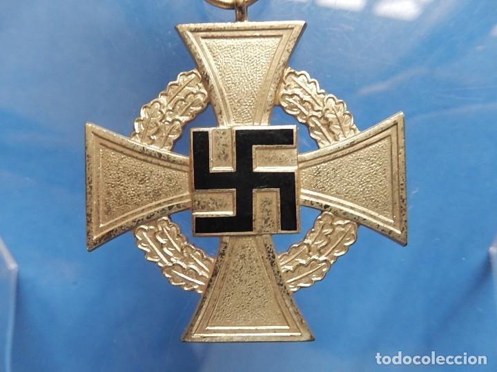 ALEMANIA. III REICH. MEDALLA 40 AÑOS. TREUDIENST EHRENZEICHEN. CON CAJA. (Militar - Medallas Extranjeras Originales)