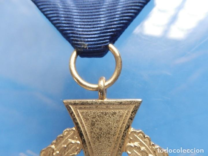 Militaria: Alemania. III Reich. Medalla 40 años. Treudienst Ehrenzeichen. Con caja. - Foto 4 - 108372679