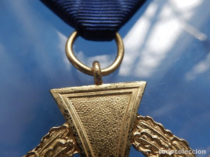 Militaria: Alemania. III Reich. Medalla 40 años. Treudienst Ehrenzeichen. Con caja. - Foto 8 - 108372679