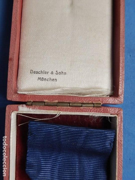 Militaria: Alemania. III Reich. Medalla 40 años. Treudienst Ehrenzeichen. Con caja. - Foto 11 - 108372679