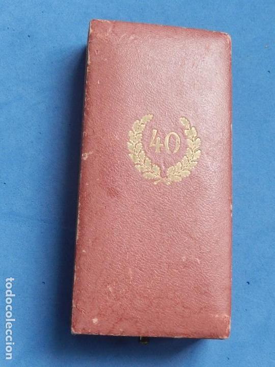 Militaria: Alemania. III Reich. Medalla 40 años. Treudienst Ehrenzeichen. Con caja. - Foto 14 - 108372679