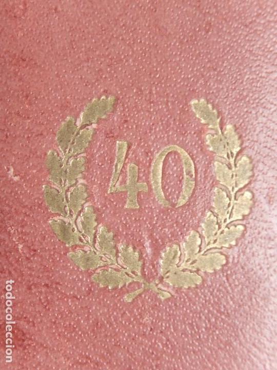 Militaria: Alemania. III Reich. Medalla 40 años. Treudienst Ehrenzeichen. Con caja. - Foto 15 - 108372679