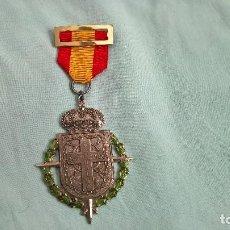 Militaria: MEDALLA EXCOMBATIENTES DE NAVARRA..25 ANIVERSARIO GUERRA CIVIL..ORIGINAL..MUY BUEN ESTADO. Lote 108438947