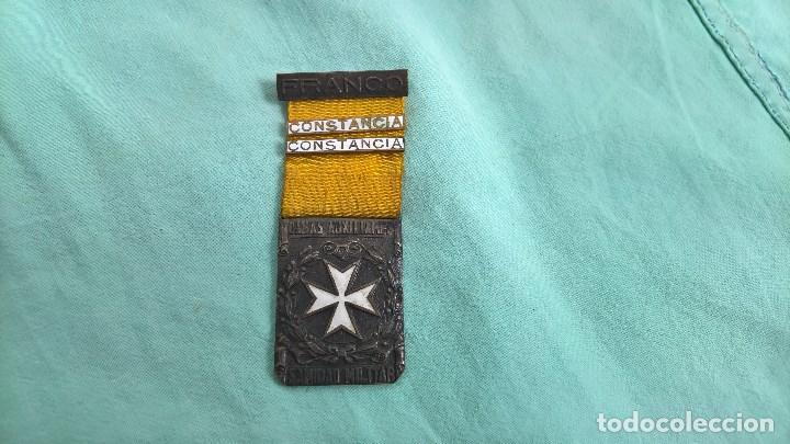 MEDALLA GUERRA CIVIL- DAMAS AUXILIARES SANIDAD MILITAR.DOS PASADORES .NACIONALES.. ORIGINAL (Militar - Medallas Españolas Originales )