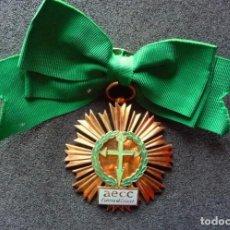 Militaria: (JX-180151)MEDALLA DE LAZO PARA DAMA DE LA ASOCIACIÓN ESPAÑOLA CONTRA EL CANCER , AECC .. Lote 108714699