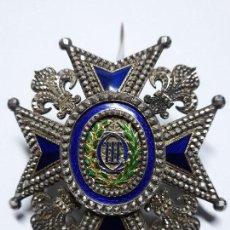 Militaria: PLACA DE LA REAL ORDEN DE CARLOS III. Lote 108814703
