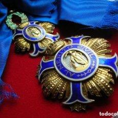 Militaria: CASA CIVIL DE GENERALISIMO FRANCO. EXCEPCIONAL GRAN CRUZ DE LA ORDEN AL MERITO CIVIL.. Lote 108850011