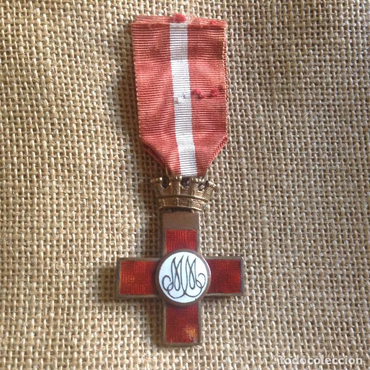 CRUZ AL MERITO II REPUBLICA GUERRA CIVIL (Militar - Medallas Españolas Originales )