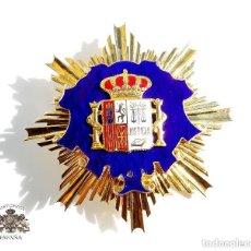 Militaria: PLACA MINISTERIO FISCAL EN PLATA CON ESMALTES. Lote 109260011