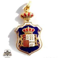 Militaria: ENCOMIENDA MINISTERIO FISCAL EN PLATA CON ESMALTES - JUSTICIA. Lote 109263423