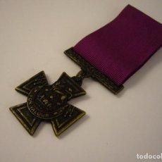 Militaria: MEDALLA DE GALLARDÍA MILITAR BRITÁNICA FOR VALOUR. Lote 110067659