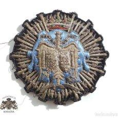 Militaria: PLACA BORDADA MINISTERIO FISCAL ÉPOCA DE FRANCO . Lote 110191279