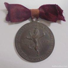 Militaria: MEDALLA. DIA REGIONAL LEONES 1939 EN EL AÑO DE LA VICTORIA. VER. Lote 110192023
