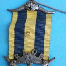Militaria: MEDALLA MASONICA MASONERIA MASON , LOGIA, RAOB EH , 1923 , ESMALTE ,ORIGINAL ,B8. Lote 110218771