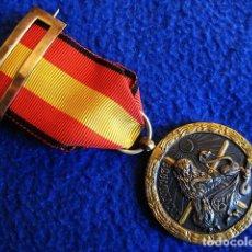 Militaria: MEDALLA CAMPAÑA 1936-1939. CANTO DE CINTA COLOR NEGRO (VANGUARDIA). ÉPOCA DE FRANCO. GUERRA CIVIL.. Lote 110369623