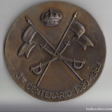 Militaria: MEDALLA 3º CENTENARIO RCLAC VILLAVICIOSA 14, 1989, ENVÍO GRATIS. Lote 110884555
