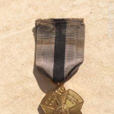 Militaria: MEDALLA BELGA ORIGINAL L'UNION FAIT LE FORCE. Lote 111319408