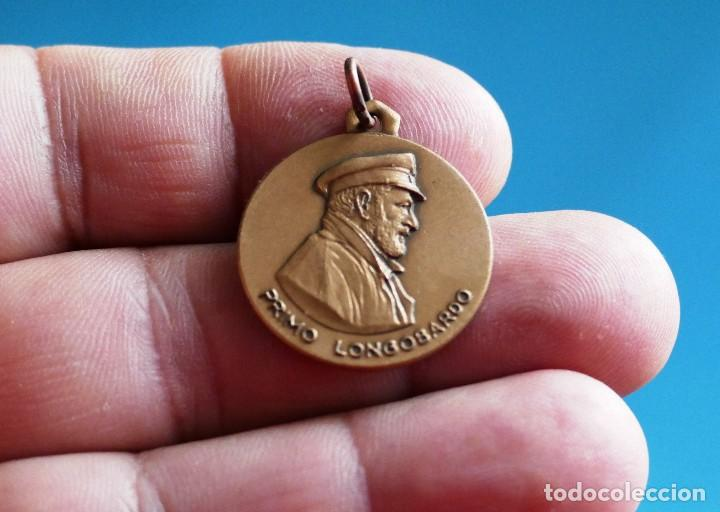 ARMADA ITALIANA. SUBMARINO PRIMO LONGOBARDO (S524). MEDALLA METÁLICA DORADA (Militar - Medallas Extranjeras Originales)